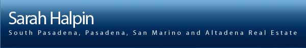 Sarah Halpin-South Pasadena, Pasadena, San Marino and Altadena Real Estate